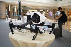 Obemannade flygplanutställningförsäljningar Arkivfoton