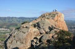 Oben auf Bishop Peak, San Luis Obispo Stockbild