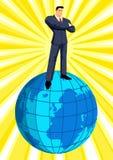 Oben auf die Welt Lizenzfreies Stockbild
