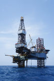 Oben bohrender OffshoreJack Stockfoto