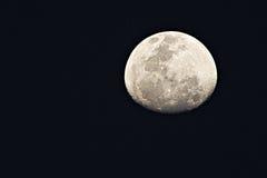Oben geschlossen vom Mond Stockbilder