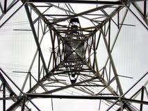 Energie Pole Stockfotografie