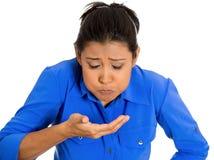 Oben zu werfen Frau ungefähr, Lizenzfreies Stockfoto