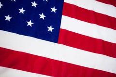 Obenliegende Ansicht der Staatsflagge Stockfotografie