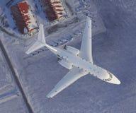 Obenliegende Ansicht von Luxus Jet-2 Lizenzfreie Stockfotografie