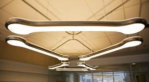 Obenliegende Lampe Lizenzfreies Stockbild