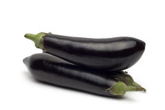 Oberżyny lub aubergine warzywo Obraz Stock