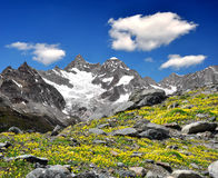 Ober Gabelhorn. Beautiful mountain Ober Gabelhorn - Swiss alps royalty free stock photos