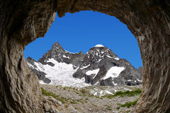 Ober Gabelhorn - Swiss alps Royalty Free Stock Images