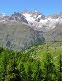 Ober Gabelhorn - Swiss alps Stock Photo