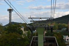 Ober Gatlinburg in im Stadtzentrum gelegenem Gatlinburg in Tennessee Stockfoto