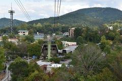 Ober Gatlinburg w w centrum Gatlinburg w Tennessee Zdjęcie Stock
