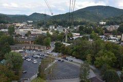 Ober Gatlinburg w w centrum Gatlinburg w Tennessee Fotografia Stock