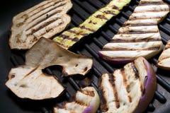 oberżyna piec na grillu Zdjęcie Royalty Free