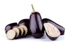 Oberżyny lub aubergines Zdjęcie Royalty Free