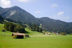 Oberammergau - Bayern - Tyskland Royaltyfria Bilder