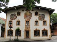 Oberammergau, Duitsland Royalty-vrije Stock Afbeeldingen