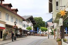 Oberammergau, Duitsland Stock Afbeelding