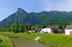 Oberammergau, Germania Fotografie Stock Libere da Diritti
