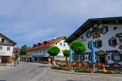 Oberammergau, Germania Immagine Stock Libera da Diritti