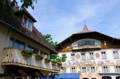 Oberammergau, Germania Fotografie Stock