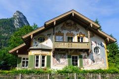 Oberammergau, Germania Fotografia Stock Libera da Diritti