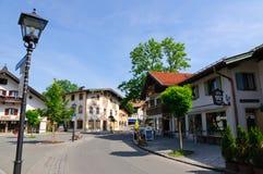 Oberammergau, Germania Immagine Stock