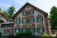 Oberammergau Tyskland arkivbild