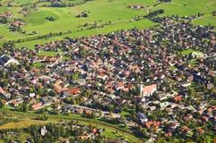 Oberammergau Tyskland Arkivbilder