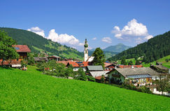 oberau, le Tirol photographie stock
