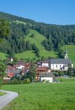 Oberau,Wildschonau,Tirol,Austria Royalty Free Stock Photography