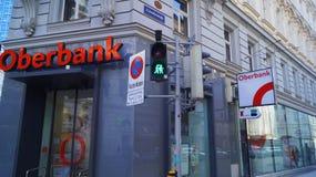 Oberbank en Viena foto de archivo