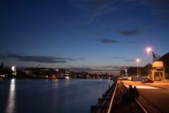 Oberbaum桥梁,柏林,德国 免版税库存图片