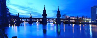 Oberbaum bridge berlin Stock Photo