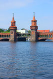Oberbaum bridge, Berlin Royalty Free Stock Photo