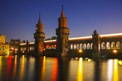 Oberbaum bridge in Berlin Royalty Free Stock Photos
