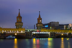 Oberbaum Bridge Berlin Stock Photography