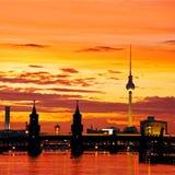 Oberbaum bridge berlin Royalty Free Stock Photo