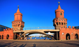 Oberbaum Bridge, Germany stock photo