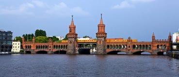 Oberbaumbrücke Stock Images