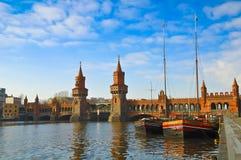 Oberbaumbridge Berlijn Royalty-vrije Stock Fotografie