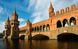 Oberbaumbridge in Berlin Stock Photo