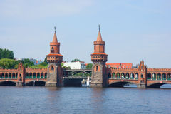 Oberbaumbridge, Berlin, Germany Stock Photography