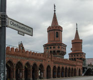 Oberbaumbrucke Stock Photography