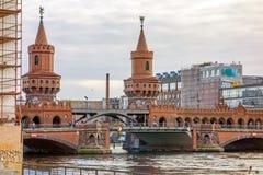 Oberbaumbruecke, Βερολίνο Στοκ εικόνα με δικαίωμα ελεύθερης χρήσης