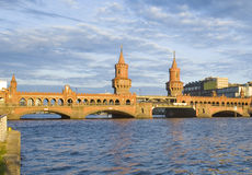 oberbaumbruecke berlin Стоковое Изображение