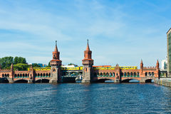 Oberbaumbruecke bridge berlin gemany Royalty Free Stock Photography