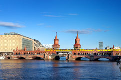 Oberbaumbruecke bridge berlin Royalty Free Stock Image