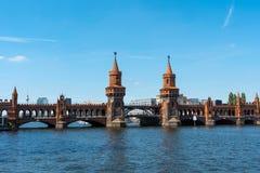Oberbaumbruecke w Berlin Zdjęcie Royalty Free