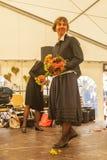 Oberdigisheim,Germany- Sept.01,2018:Fashion Show at 1250 years village celebration stock image